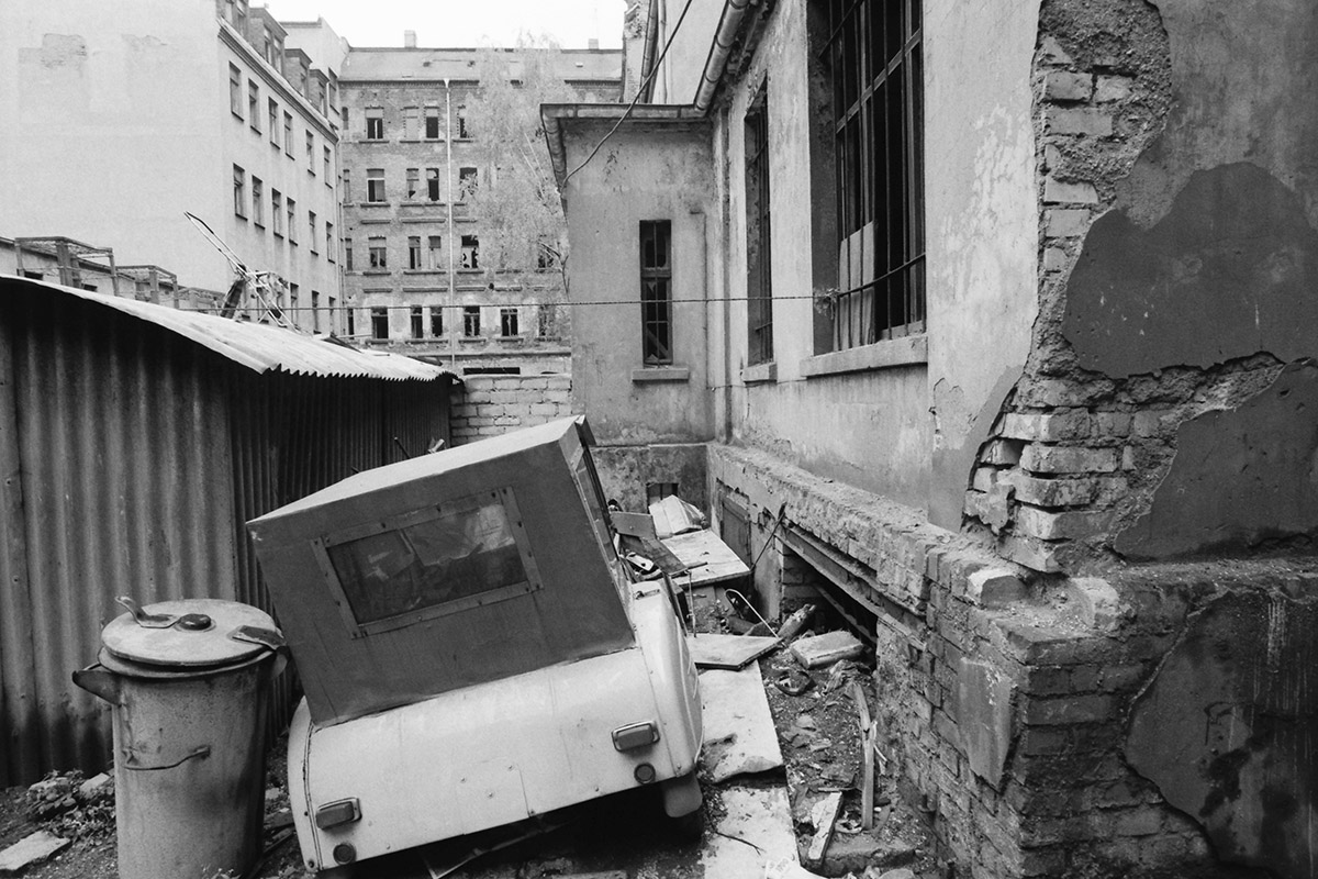 Leipzig, 1990, brown coal, braunkohle, Mariakirche, Buchenwald, DDR, pollution