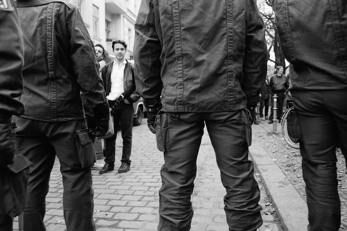 Police, polizei, demonstration