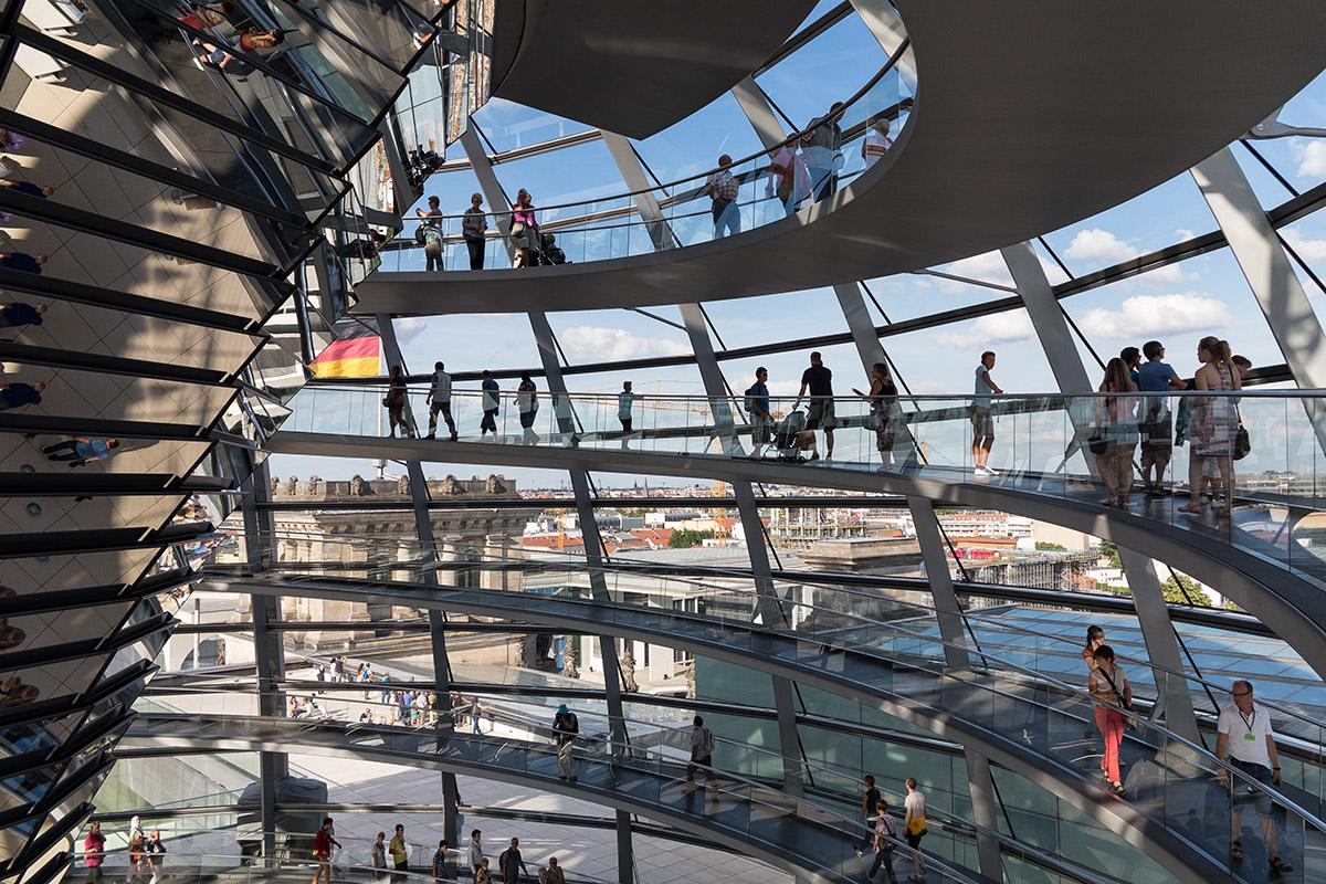 Bundestag, Reichstag, Parliament, dome, kuppel