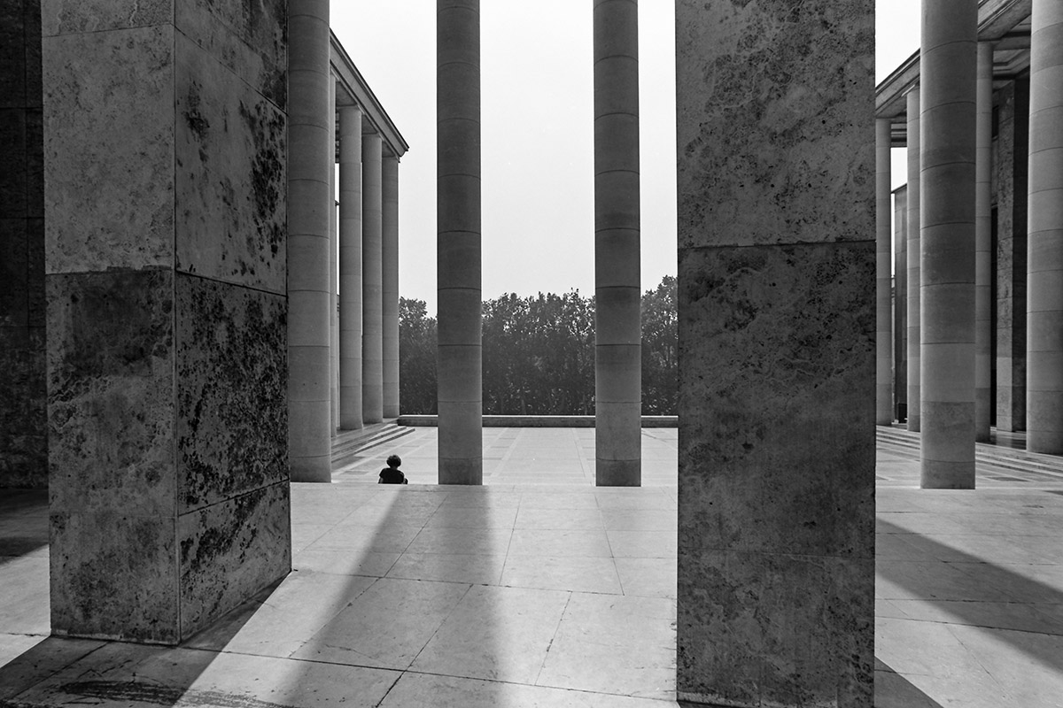 Musée d'Art Moderne, Palais de Tokyo / Site de création contemporaine, Trocadero, Eiffel Tower, street photography