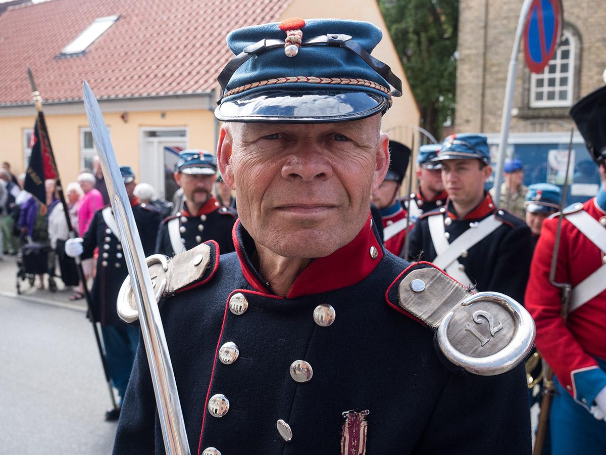 6. juli, Fredericia, 3 års krigen, Landsoldaten, parade