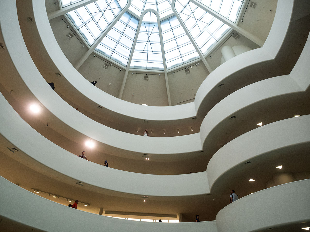Solomon R Guggenheim, art, museum, atrium, architechture, Manhattan, New York, NY, NYC, Big Apple, City that never sleeps, Five Boroughs, Melting Pot, Modern Gomorrah, New Amsterdam, Manhattan, Empire City, Gotham, Metropolis, Center of Universe , So nice they named it twice