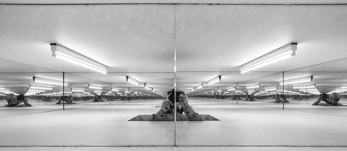Aros, art museum, rainbow panorama, Olafur Eliasson, Aarhus, Kunstmuseum, Boy, Ron Mueck