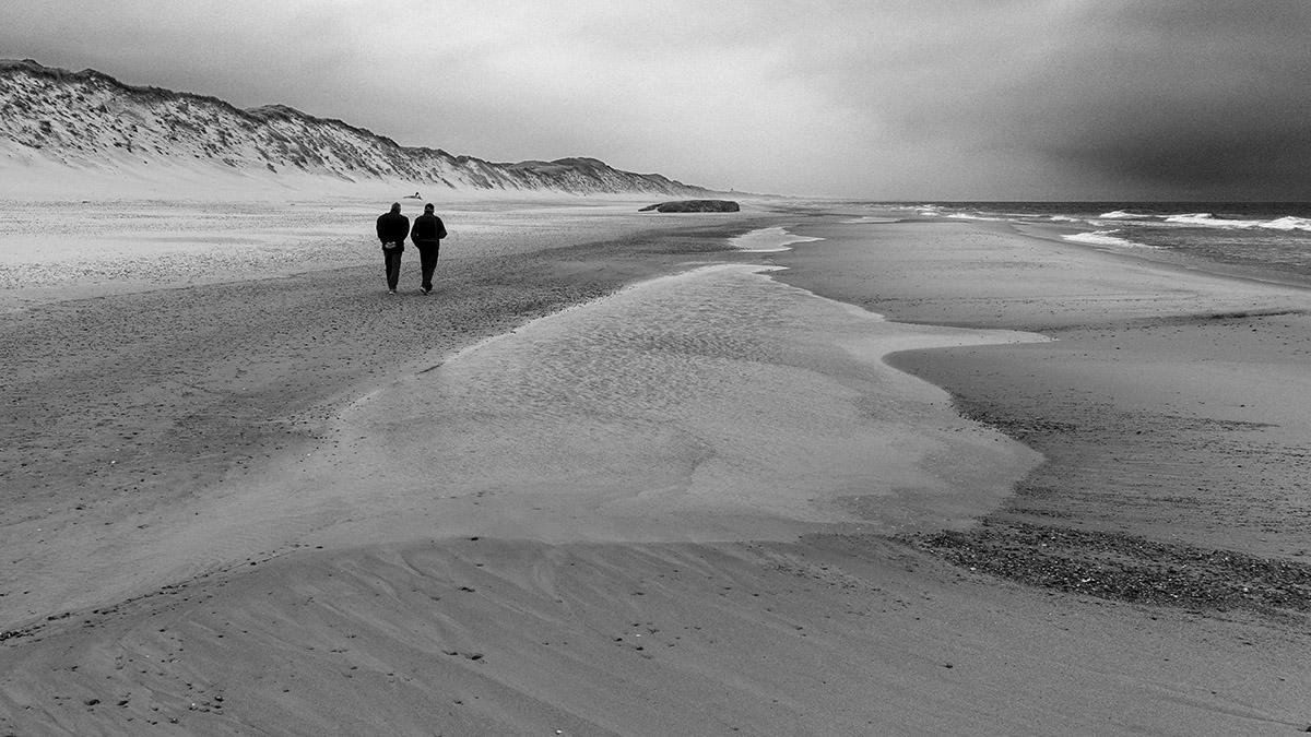Vesterhavet, North Sea, klitter, dunes, recreation, sommerhus, german tourists