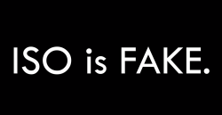 ISO is FAKE
